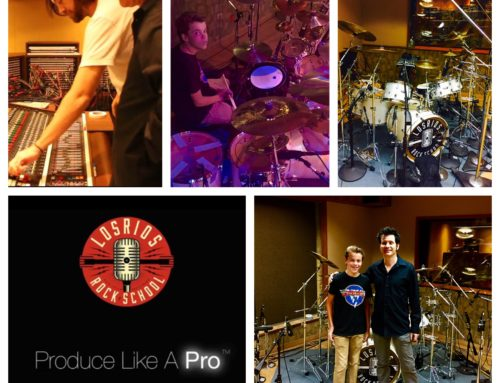 "thomasondrums & ""Produce Like a Pro"" at Sunset Sound"