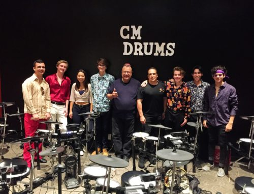 "thomasondrums: ""Vatos"" @ O.C.S.A. CM Drum Lab!"