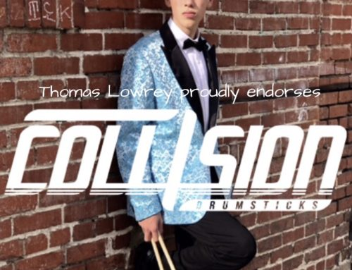 thomasondrums: New Collision Drum Sticks Ad!