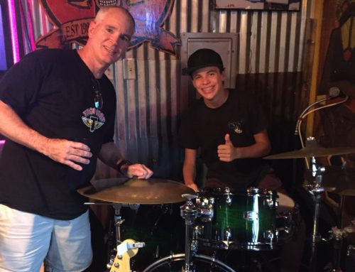 thomasondrums: 9 Years @ Rob Ferrell Drum Studio!