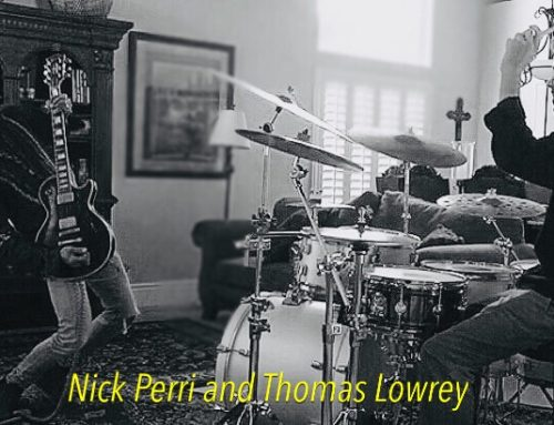 thomasondrums: Drummer's Update – New Nick Perri Jam!