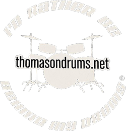 Thomas on Drums Logo